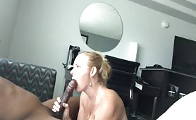 Cuckhold wife getting creampied