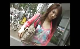 Japanese teen shitting on the streets