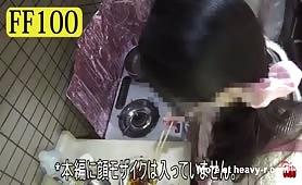 Sexy Japanese shitting