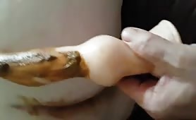 Dirty buttplug
